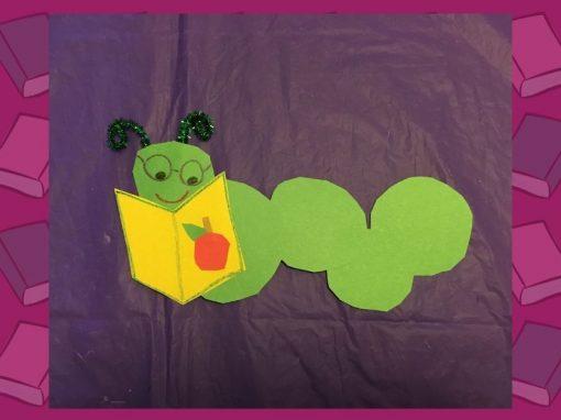 DIY Craft | Make a Bookworm with Us!