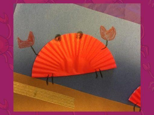 DIY Craft | Make Cupcake Liner Crabs with Us!
