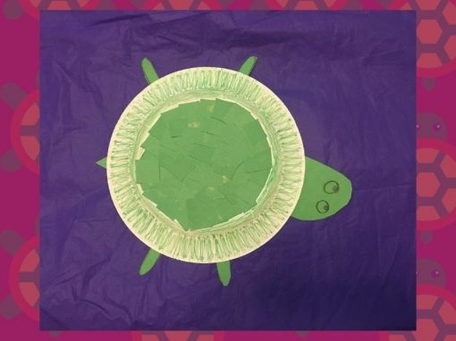 DIY Craft | Make a Paper Plate Turtle with Us!