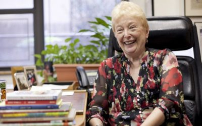 Barbara Zinn Krieger is the NY1 New Yorker Of The Week!