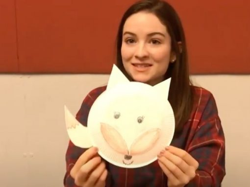 Make a Paper Plate Fox with Us!