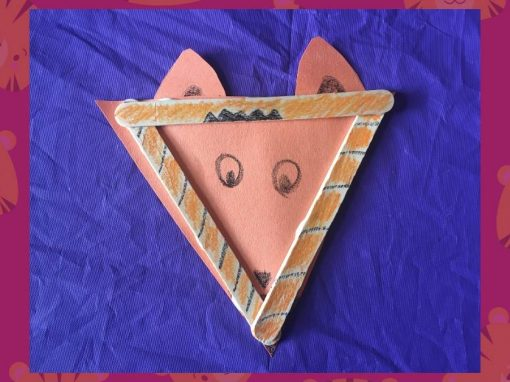 Make a Popsicle Stick Tiger with Us!