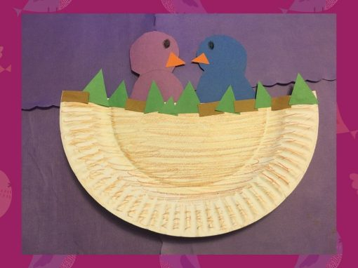 Make a Paper Plate Bird Nest with Us!