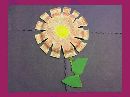 Make a Paper Plate Flower with Us!