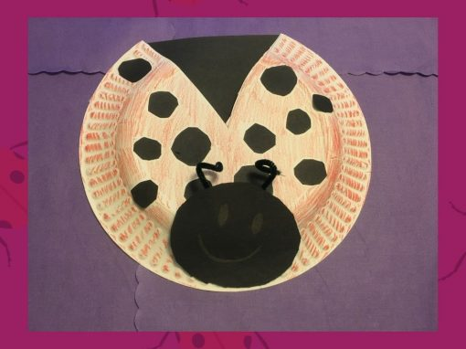 Make a Paper Plate Ladybug with Us!