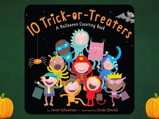 Creative Clubhouse Stories | 10 Trick or Treaters