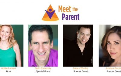 Meet the Parent Hosted by Anika Larsen with Special Guests Seth Rudetsky, James Wesley, and Andréa Burns